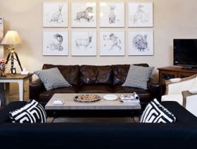 多元素混搭风格度假别墅装修案例
