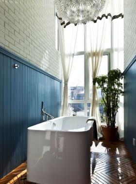 现代美式设计阳台效果图欣赏