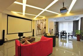 创意现代简约三居装潢案例