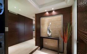 新中式家居玄关设计