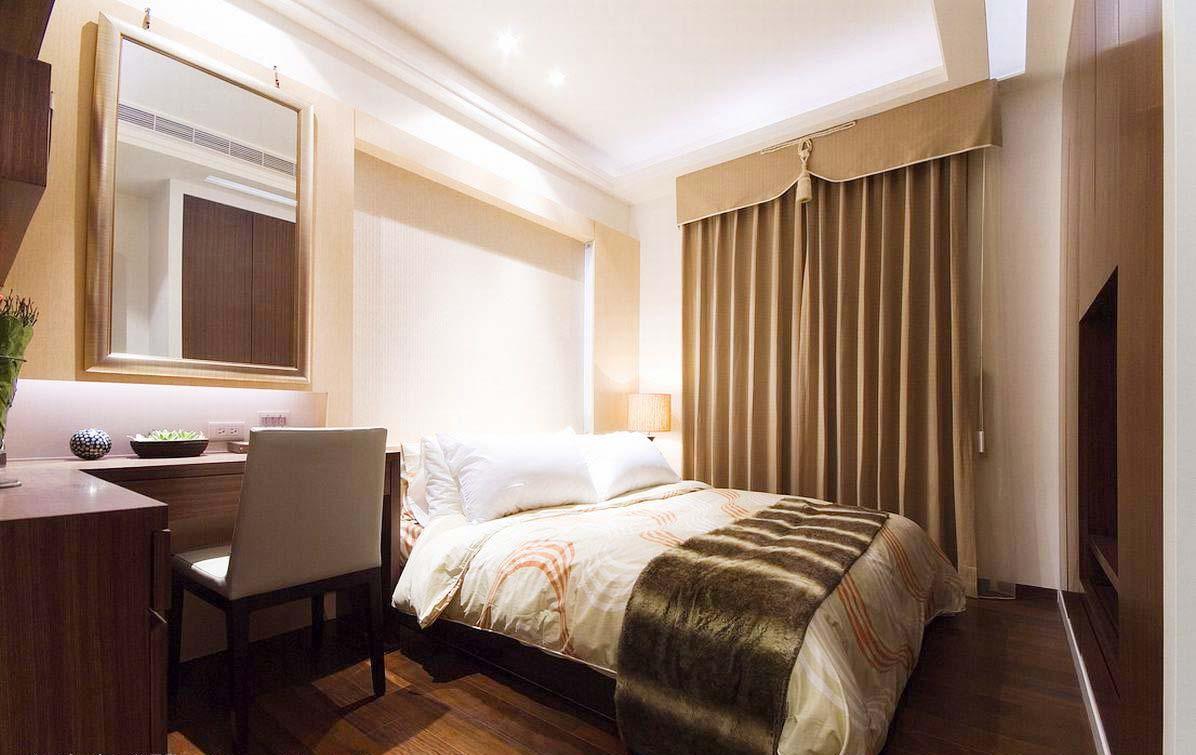 美式现代卧室装修室内设计图片