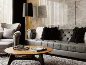 新古典设计低调奢华复式装修案例