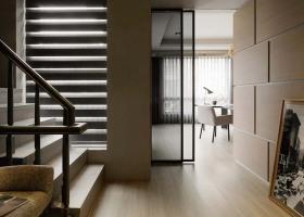 简洁新古典风格楼梯装修效果图