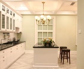 田园设计厨房吧台欣赏