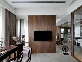 新古典风格别墅室内书房装饰图片