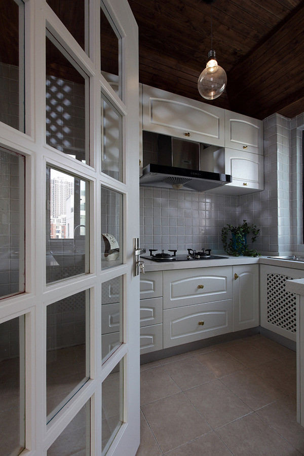 简欧室内厨房设计图片
