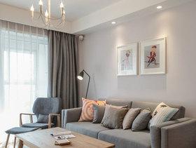 现代简约风格客厅吊顶设计图纸