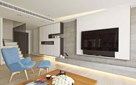 欧式风格客厅背景墙设计效果图