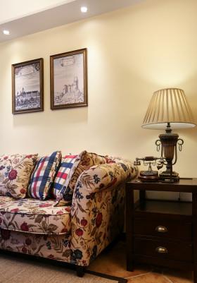 美式设计装修客厅一角欣赏