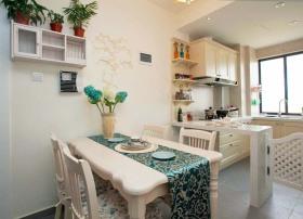 欧式开放式小厨房