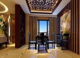 大方中式餐厅装潢设计