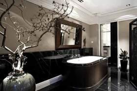 素净新古典主义卫生间装潢设计