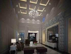 简欧客厅装潢设计
