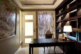 美式书房装修效果图