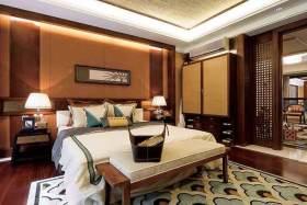 中式卧室装修案例