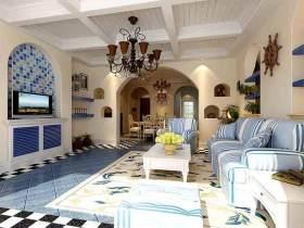地中海客厅装修设计