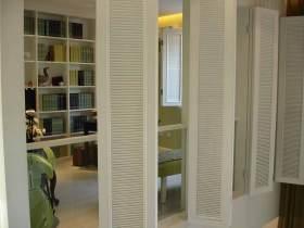 简约有序书房设计效果图