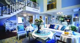 地中海奢华客厅装潢设计