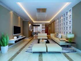 简欧客厅设计效果图