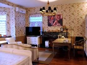 欧式田园风卧室装修设计