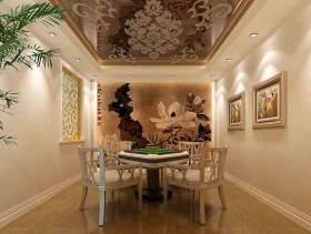中式现代餐厅装修设计