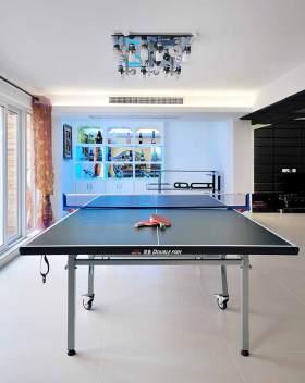 现代乒乓球室装修设计