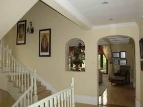 田园风格楼梯设计
