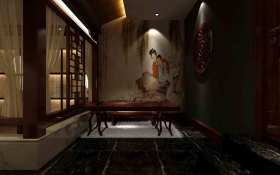 中式客厅背景墙设计