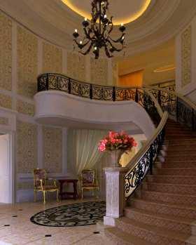 欧式个性楼梯装修设计