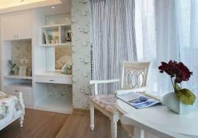北欧风卧室飘窗装修设计图