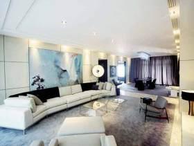 浪漫现代客厅装修效果图