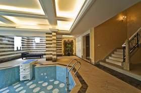 简欧大气室内泳池装修案例