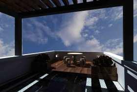 新古典阳台设计图