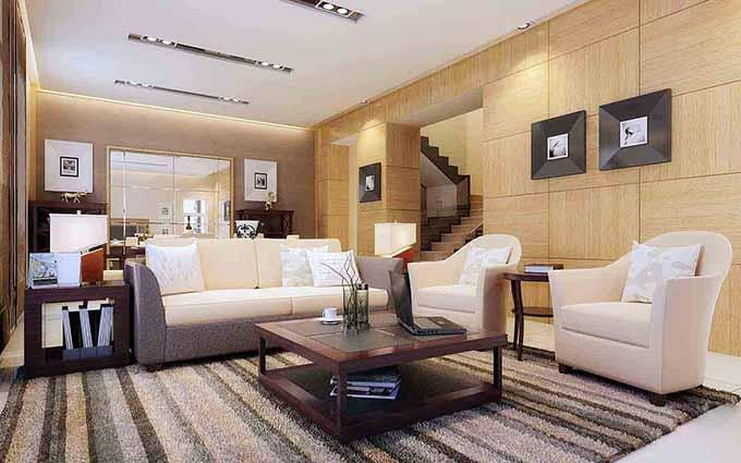 宜家时尚风格客厅装潢设计图