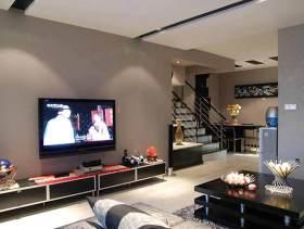 现代风格客厅装潢设计