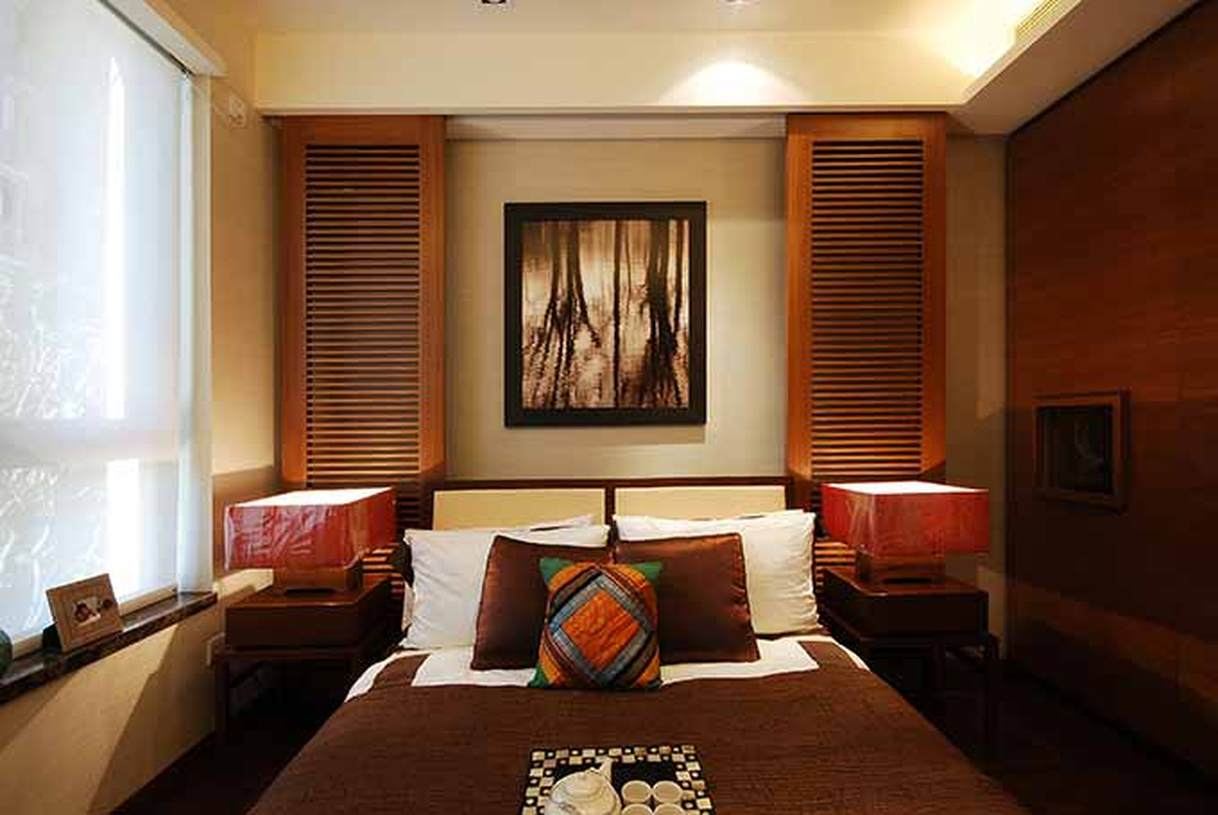 中式卧室装潢设计