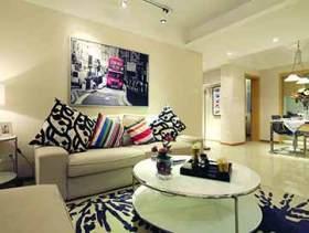 明亮简约客厅装潢设计