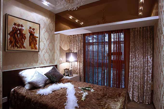欧式古典卧室装潢设计