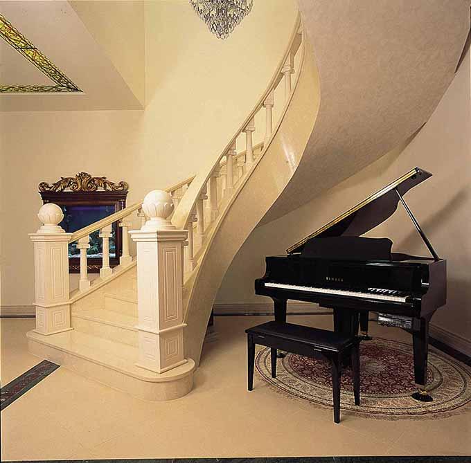 欧式风格楼梯装修案例