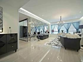 现代客厅装潢设计