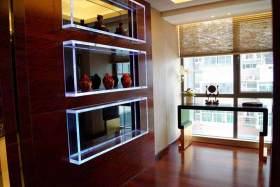 现代客厅一角装修效果图