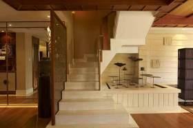 中式楼梯设计效果图