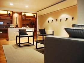 现代元素中式风格客厅装修效果图