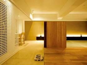 简约日式客厅装潢设计
