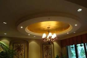 东南亚客厅吊顶装潢设计