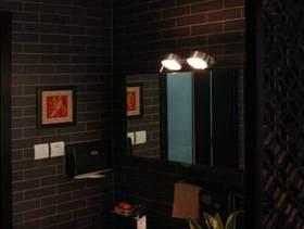 中式现代卫生间装修效果图