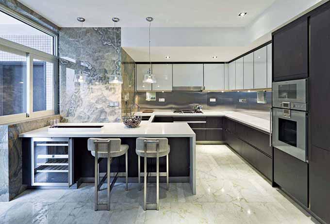 现代厨房装修效果图  免费户型设计 3家优质装修公司免费帮您出方案
