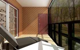 新古典阳台装修效果图
