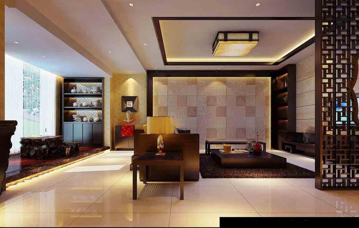 中式客厅装修效果图图片