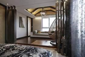 中式卧室过道装修效果图